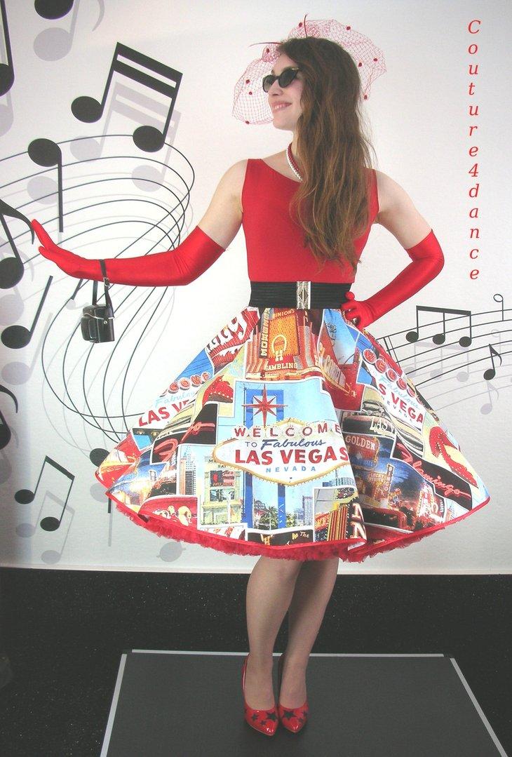 Tellerrock Las Vegas Petticoatmode Petticoatrocke