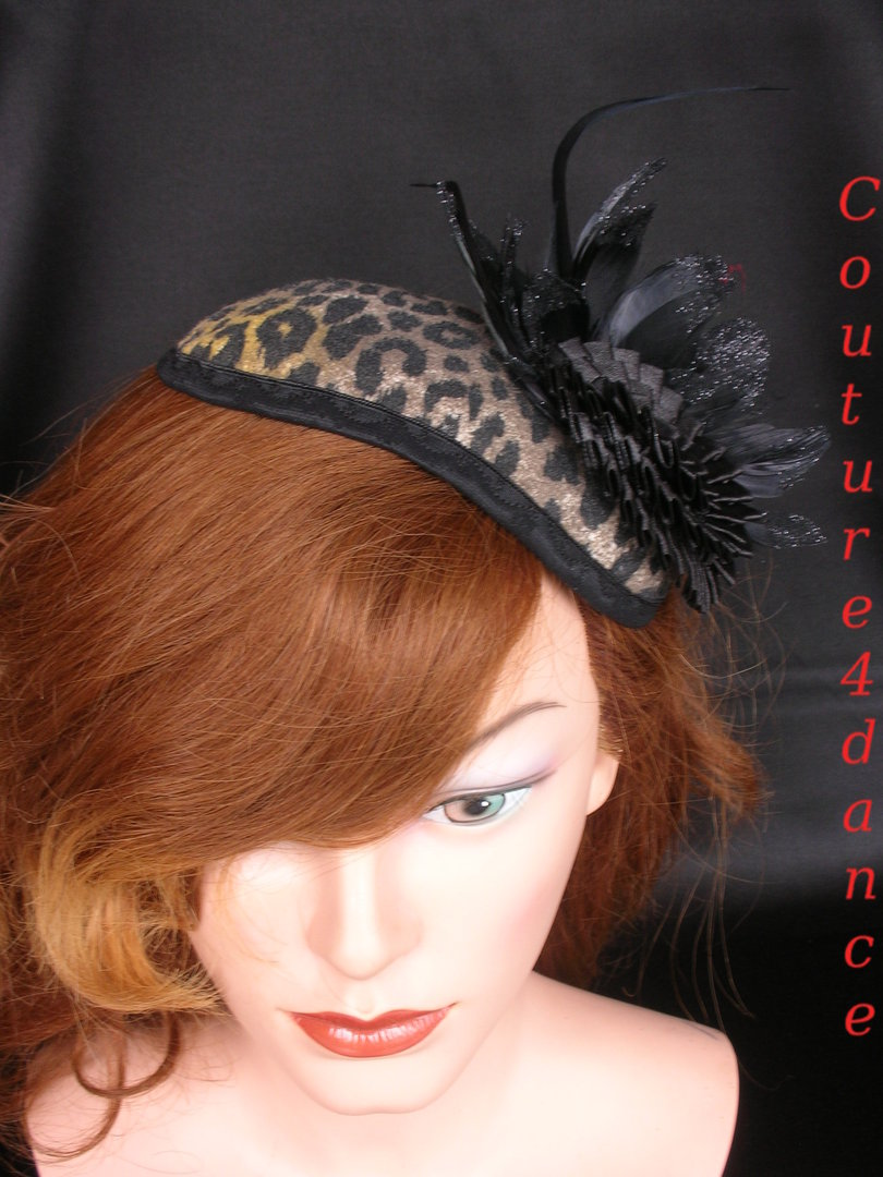Fascinator,Animalprint