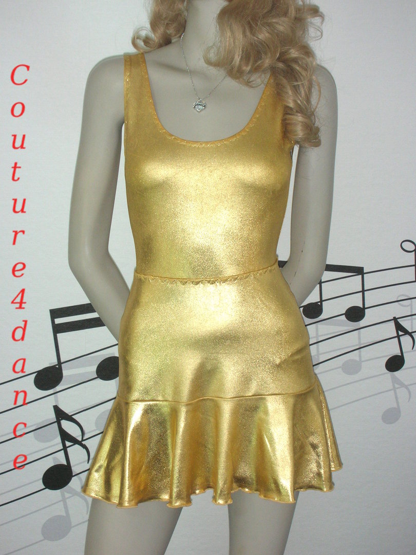Metallic Folienjersey Gold