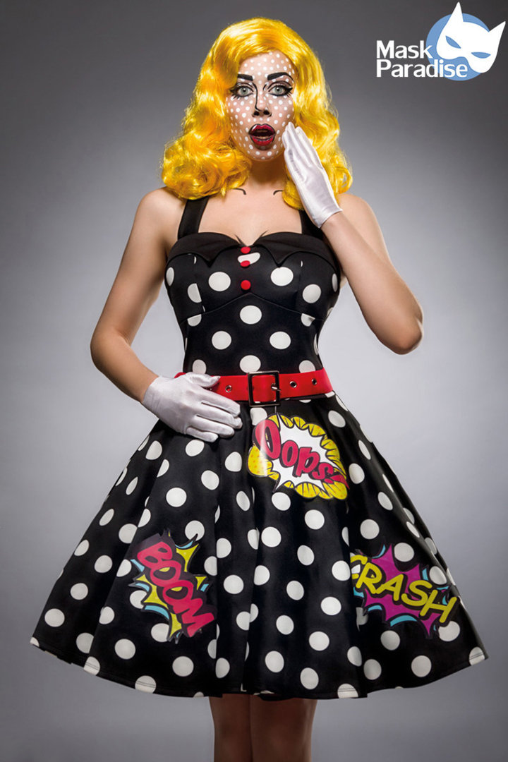 Kleid im Pop Art Look